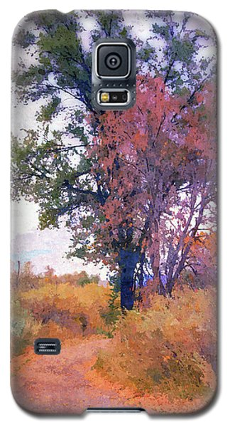 Autumn Melancholy Galaxy S5 Case