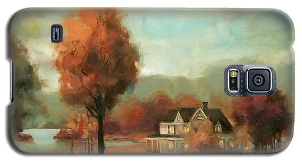Geese Galaxy S5 Case - Autumn Memories by Steve Henderson