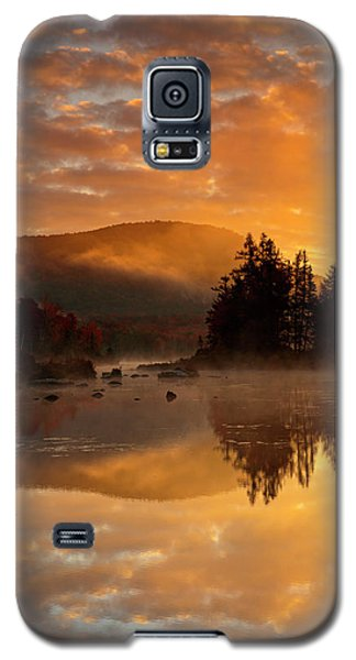 Autumn Mist Galaxy S5 Case by Mike Lang