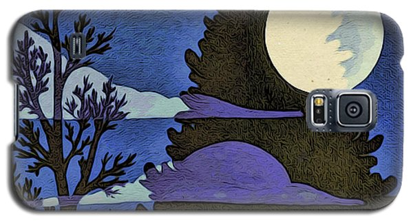 Autumn Moon Galaxy S5 Case