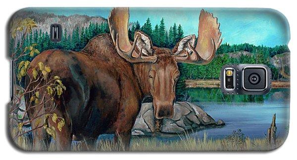 Autumn Moose Galaxy S5 Case