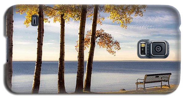 Autumn Morn On The Lake Galaxy S5 Case