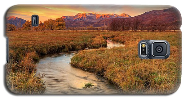 Autumn Morning In Heber Valley. Galaxy S5 Case