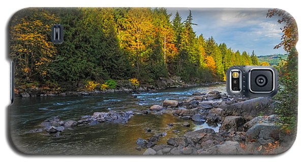 Autumn Morning Light On The Snoqualmie Galaxy S5 Case