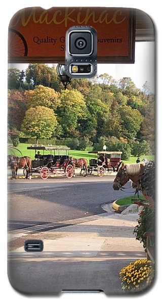 Autumn Morning On Mackinac Island Galaxy S5 Case