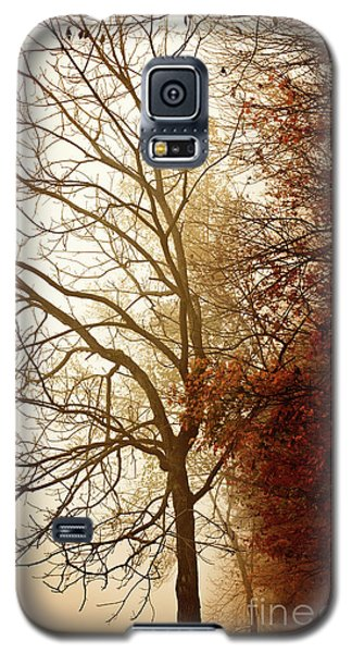 Galaxy S5 Case featuring the photograph Autumn Morning by Stephanie Frey