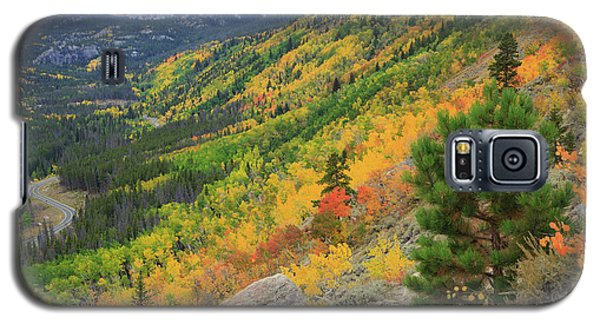 Galaxy S5 Case featuring the photograph Autumn On Bierstadt Trail by David Chandler