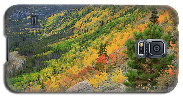 Autumn On Bierstadt Trail Galaxy S5 Case