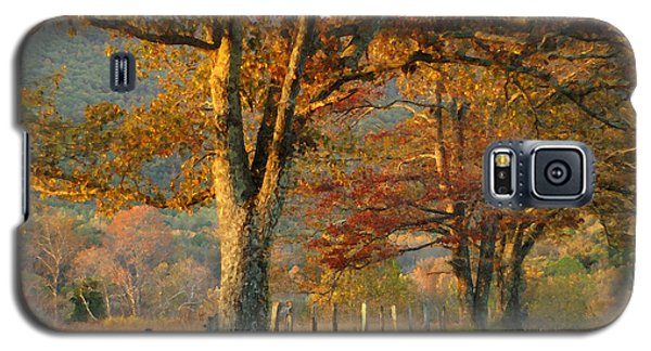 Autumn On Sparks Lane Galaxy S5 Case