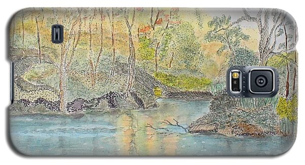 Autumn On The Ausable River Galaxy S5 Case