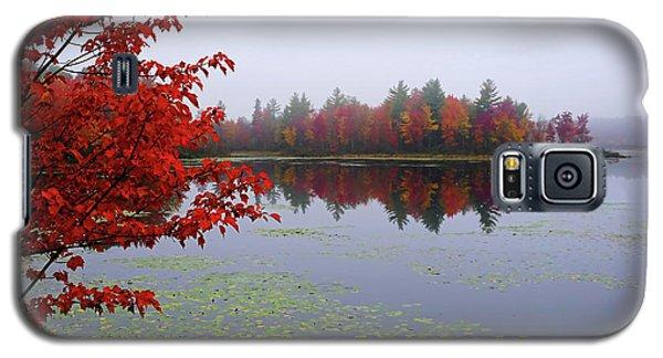 Autumn On The Bellamy Galaxy S5 Case