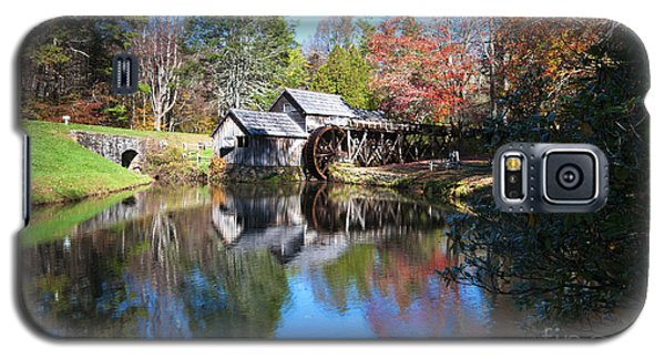 Autumn On The Blue Ridge Parkway At Mabry Mill Galaxy S5 Case