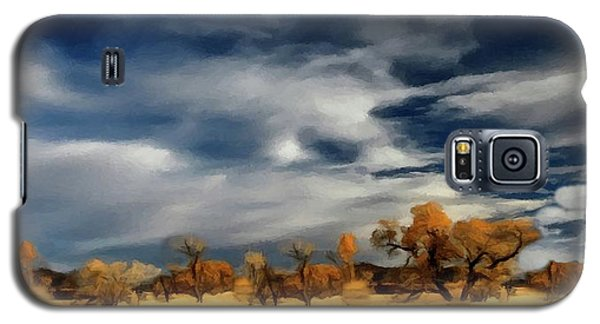 Autumn On The Edge Of The Great Plains  Galaxy S5 Case by David Dehner