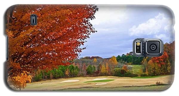 Autumn On The Golf Course Galaxy S5 Case