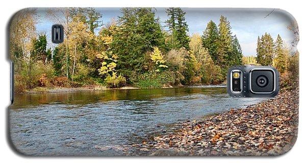 Autumn On The Molalla Galaxy S5 Case