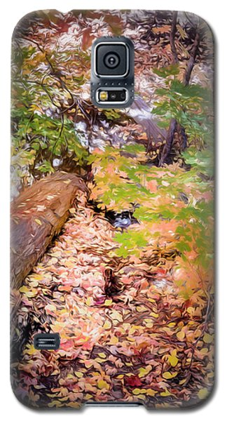 Autumn On The Mountain Galaxy S5 Case