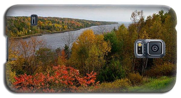 Autumn On The Penobscot Galaxy S5 Case
