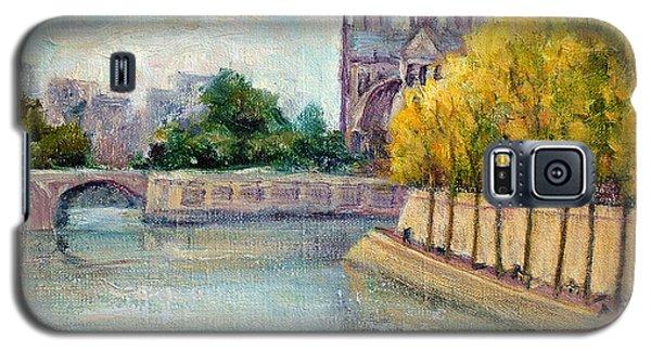 Autumn On The Seine Galaxy S5 Case