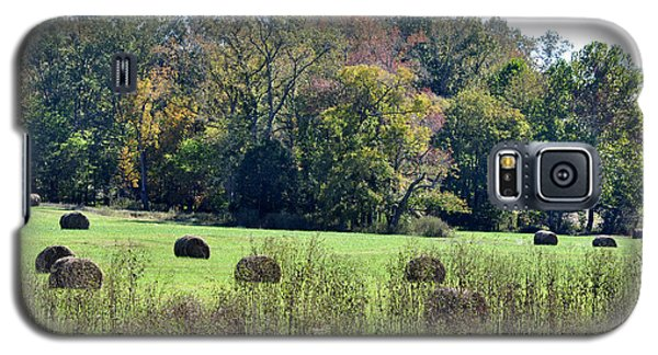 Autumn Pastures Galaxy S5 Case by Jan Amiss Photography