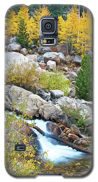Galaxy S5 Case featuring the photograph Autumn Peace by Gary Lengyel