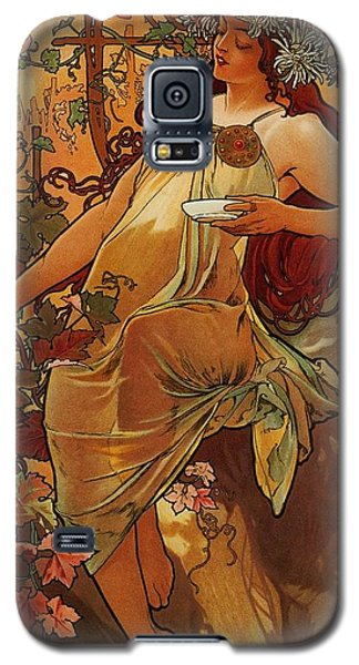 Autumn Galaxy S5 Case by Pg Reproductions