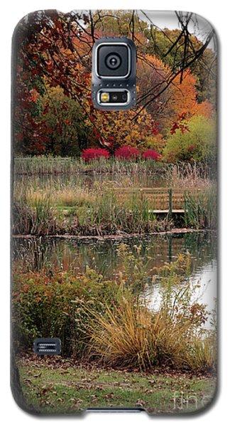 Autumn Pond In Maryland Galaxy S5 Case