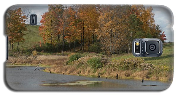 Galaxy S5 Case featuring the photograph Autumn Pond by Joshua House