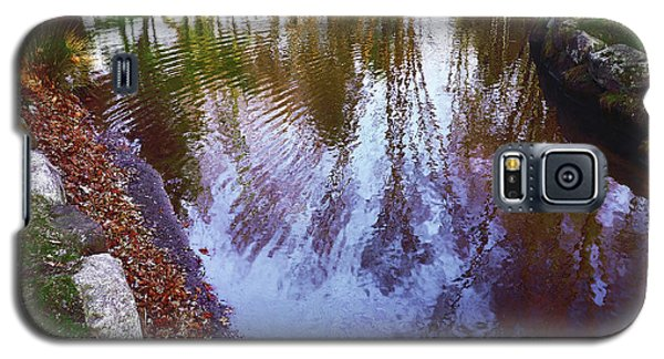 Autumn Reflection Pond Galaxy S5 Case