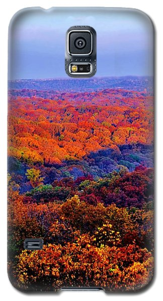 Autumn Rainbow Galaxy S5 Case