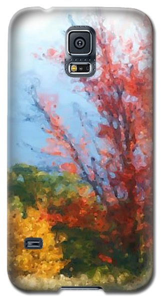 Autumn Red And Yellow Galaxy S5 Case by Smilin Eyes  Treasures