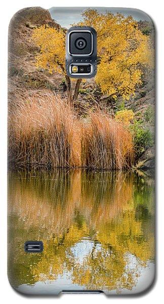 Autumn Reflection At Boyce Thompson Arboretum Galaxy S5 Case