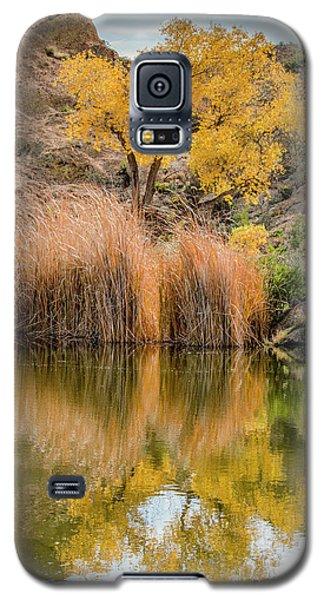 Autumn Reflection At Boyce Thompson Arboretum Galaxy S5 Case