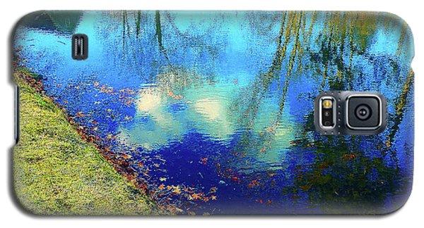 Autumn Reflection Pond Galaxy S5 Case