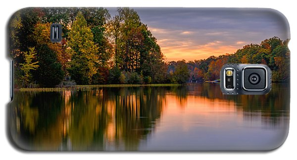 Autumn Reflections Galaxy S5 Case