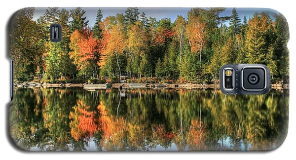 Autumn Reflections Of Maine Galaxy S5 Case