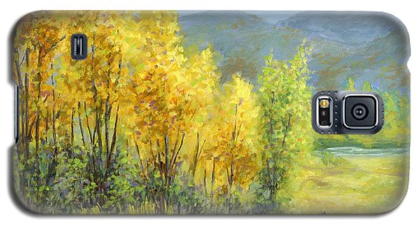Autumn River Valley Galaxy S5 Case
