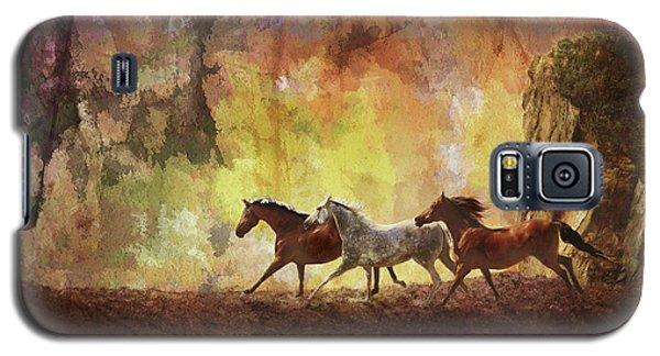 Autumn Run Galaxy S5 Case