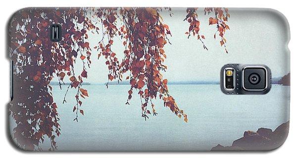 Galaxy S5 Case featuring the photograph Autumn Shore by Ari Salmela