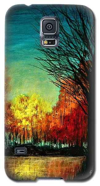 Autumn Silhouette  Galaxy S5 Case
