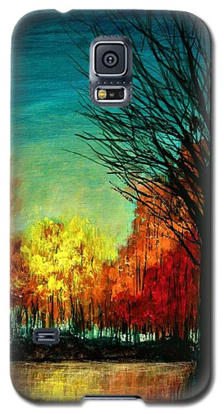 Autumn Silhouette  Galaxy S5 Case
