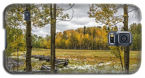 Autumn Snow Fall Galaxy S5 Case