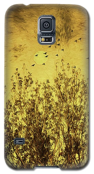 Galaxy S5 Case featuring the photograph Autumn Song by Diane Schuster