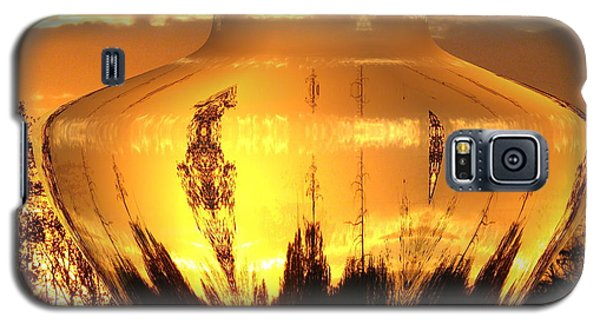 Galaxy S5 Case featuring the photograph Autumn Spirits by Joyce Dickens