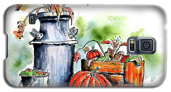 Autumn Still Life 1 Galaxy S5 Case by Terry Banderas