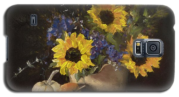 Galaxy S5 Case featuring the painting Autumn Still by Lori Ippolito