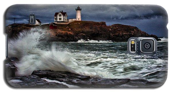 Autumn Storm At Cape Neddick Galaxy S5 Case