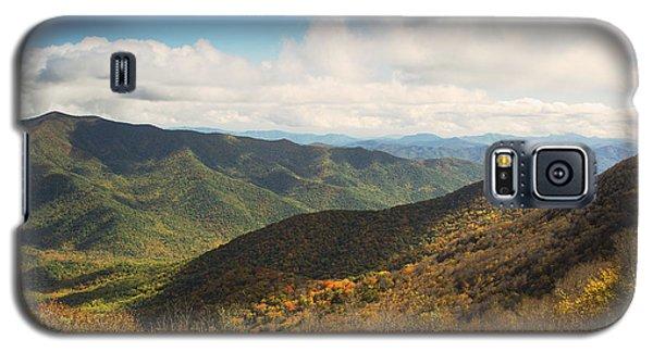Autumn Storm Clouds Blue Ridge Parkway Galaxy S5 Case