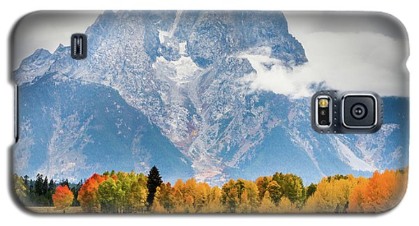 Autumn Storm Over Mount Moran Galaxy S5 Case