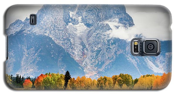 Autumn Storm Over Mount Moran Galaxy S5 Case