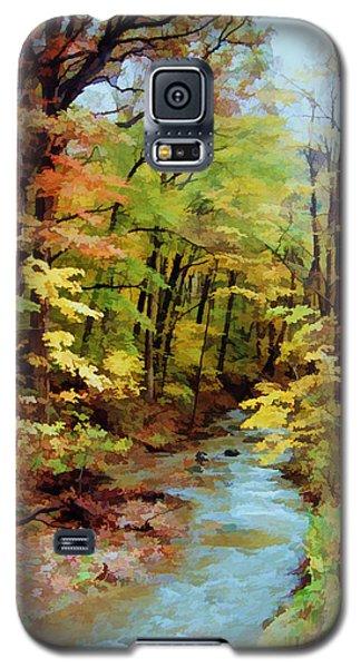 Autumn Stream Galaxy S5 Case